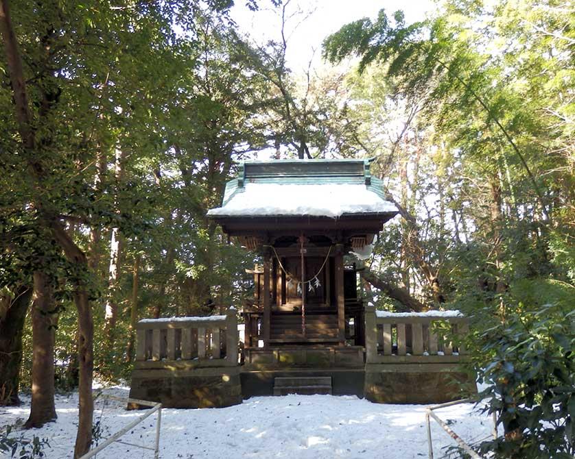 Храм Синто вТама Дзэнсёэн, 1930-е годы (japanvisitor.com)