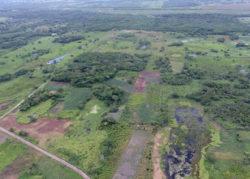 Агуада-Феникс до начала раскопок в 2017 году