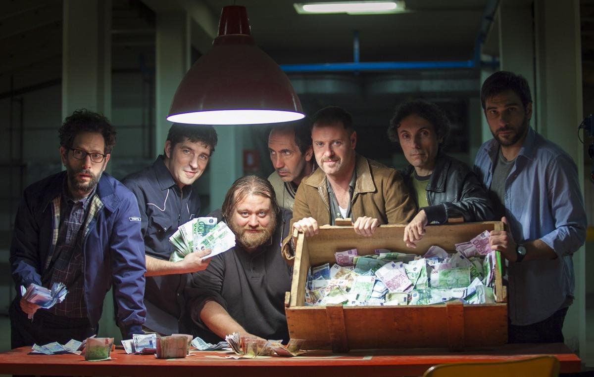 Научные работники в условиях жесткой рыночной экономики. Кадр со съемок фильма Smetto quando voglio