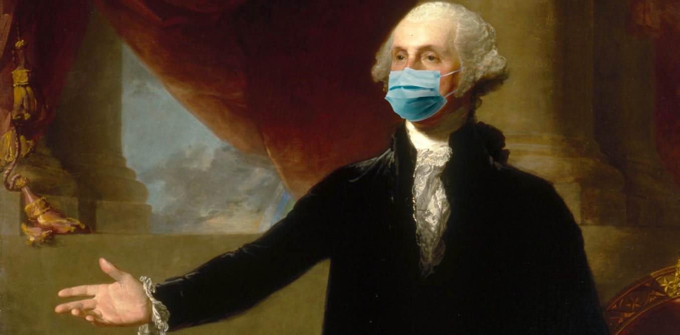 National Portrait Gallery, Gilbert Stuart portrait/Илл. A. Papolu