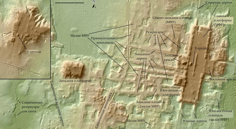 Карта Аугада-Феникс