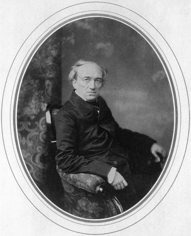 Фёдор Тютчев. Фото С. Левицкого, 1856 год