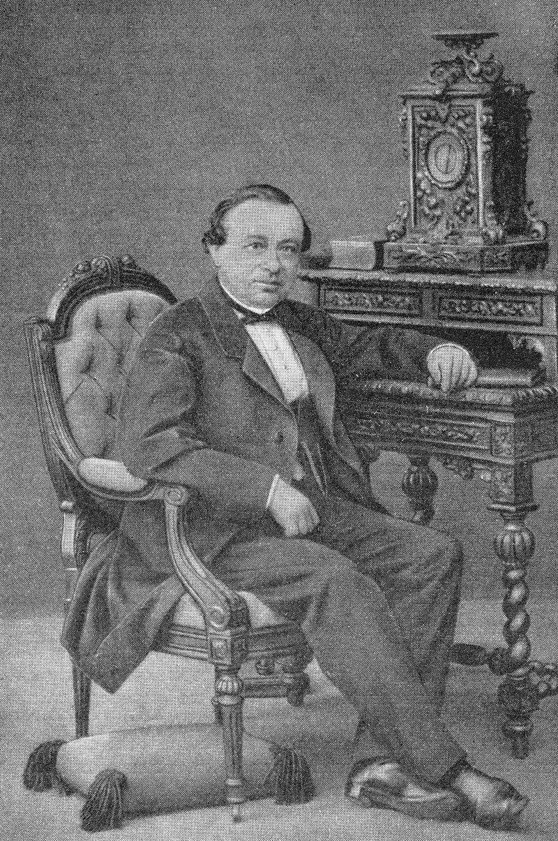 Юлий Фёдорович Фрицше — химик, член Санкт-Петербургской академии наук. Ок. 1860–1870 года