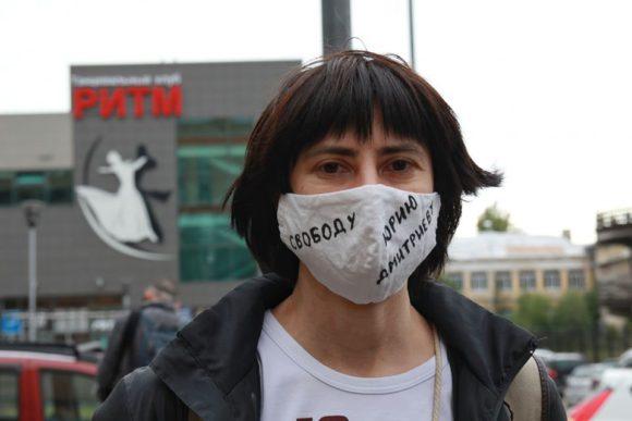 Ирина Галкова, директор музея «Мемориала». Фото Д. Кротовой