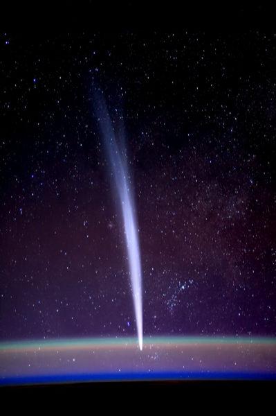 Комета Лавджоя. Фото Dan Burbank