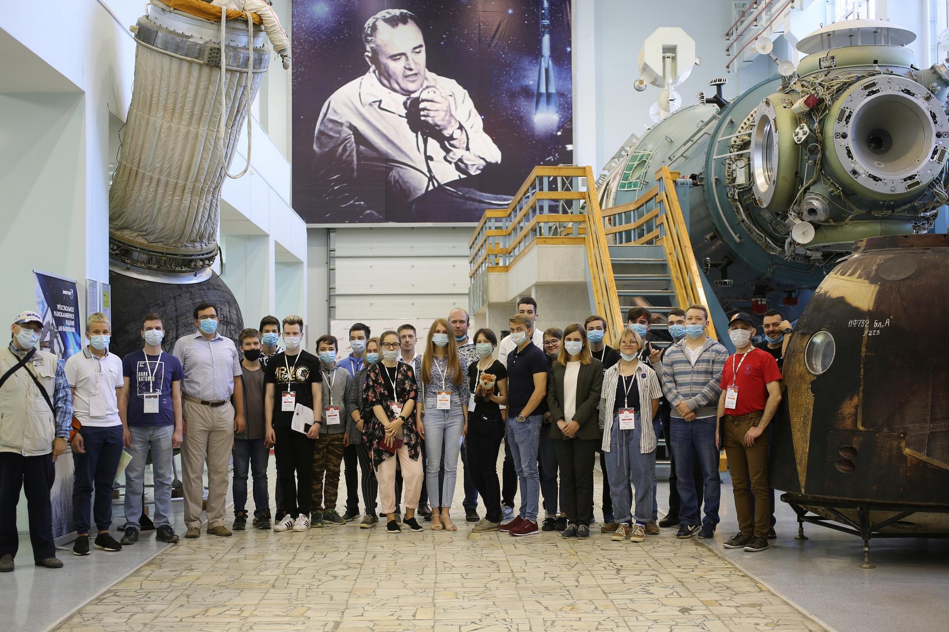 В музее Ракетно-космической корпорации им. С. П. Королёва