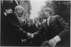 Встреча Хрущёва и Кеннеди в Вене, 4 июня 1961 года. «Википедия»