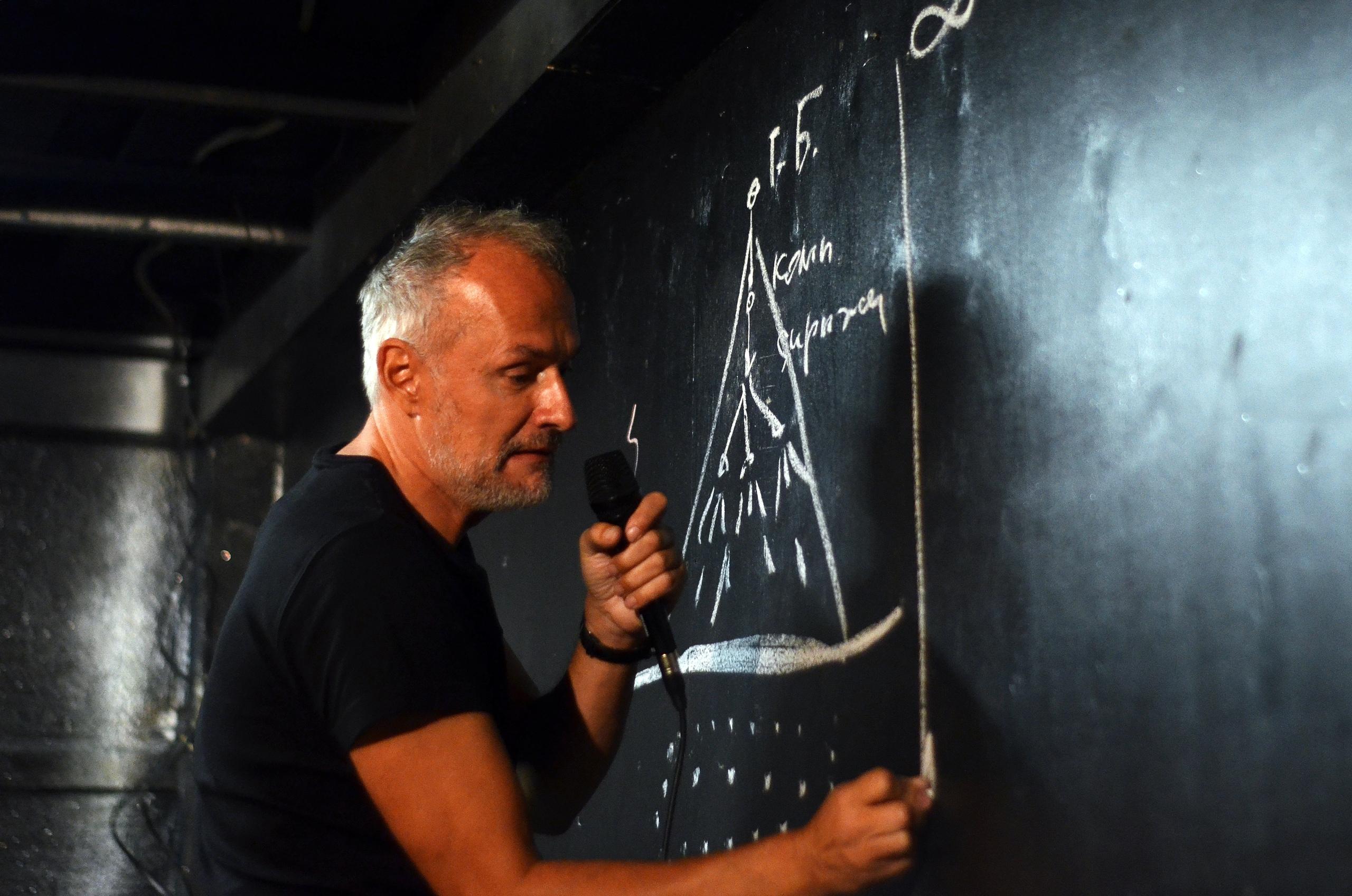 Музыкант Олег Нестеров. Конференция Chords&Words. Фото С. Юдина