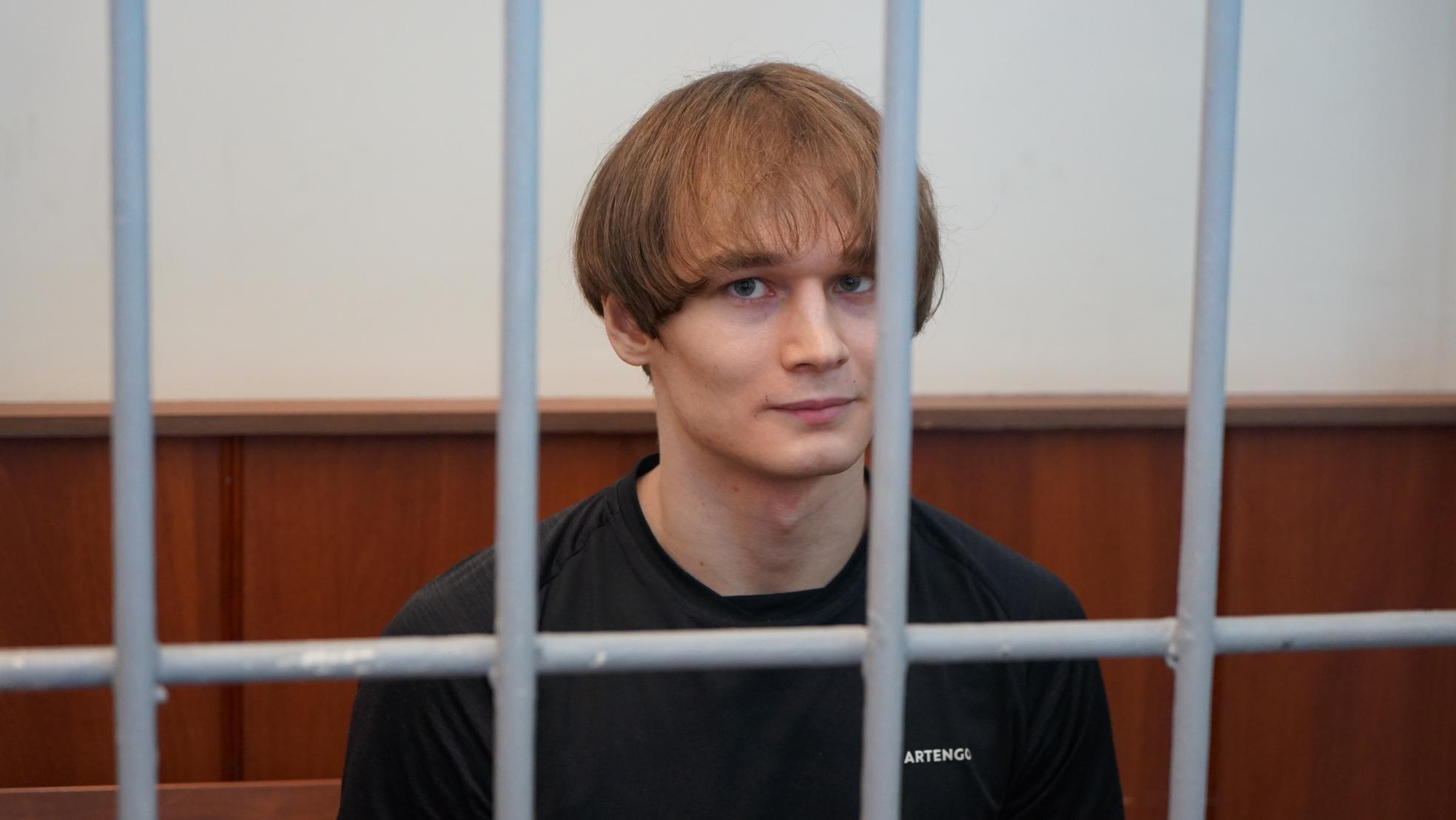 Азат Мифтахов на заседании Головинского суда. Фото Н. Деминой