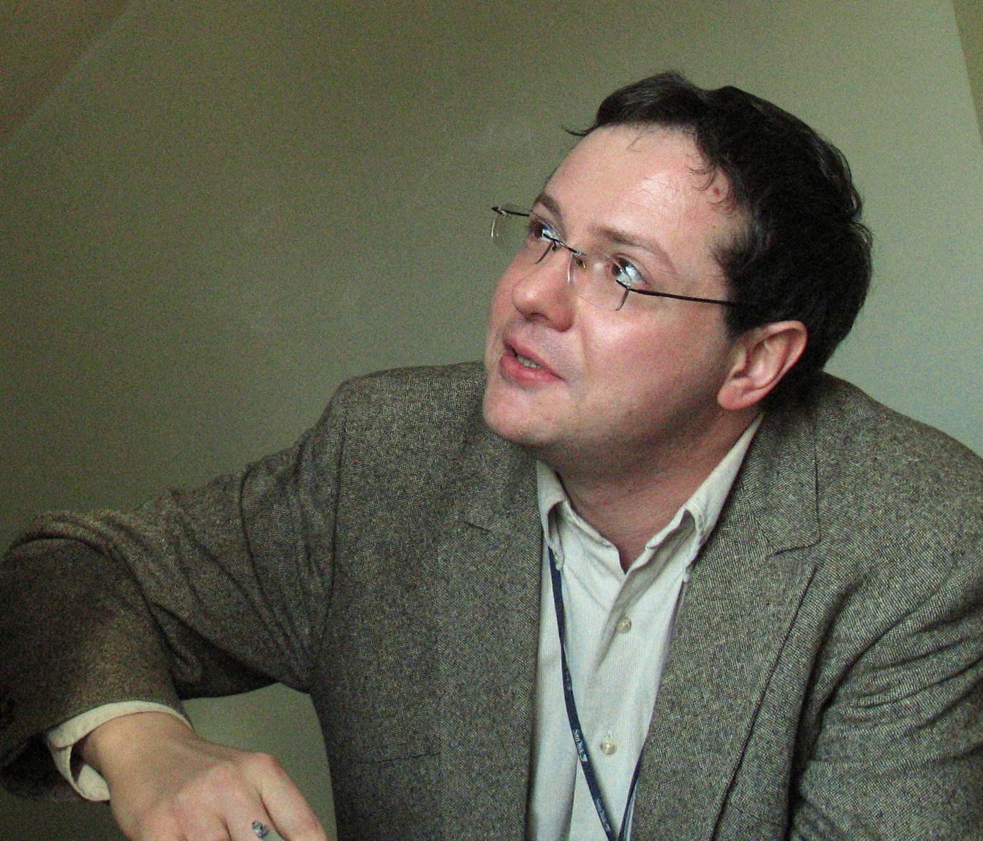 Александр Иличевский в 2007 году. Фото Д. Борко