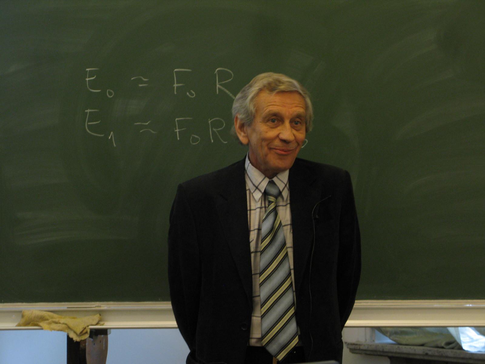 Николай Сибельдин. ИТЭФ, сентябрь 2014 года