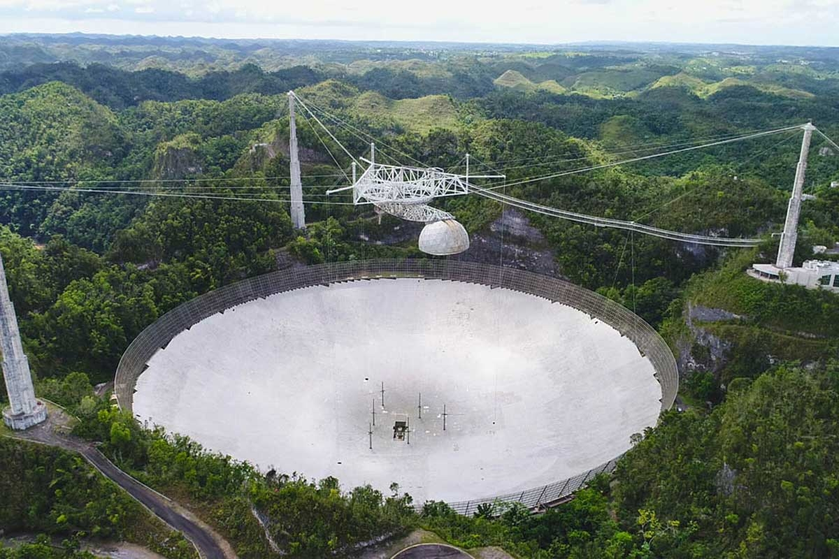 Радиотелескоп «Аресибо»