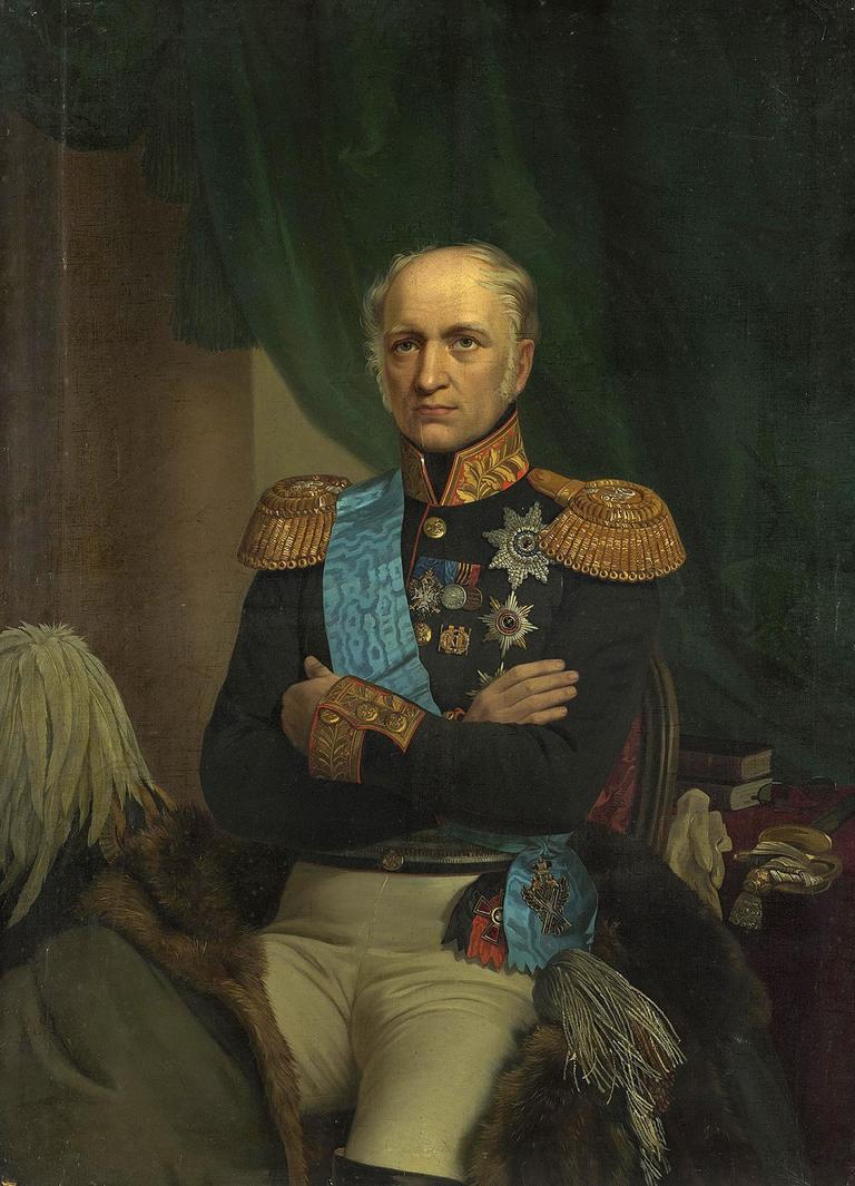 Е. И. Ботман. Портрет Е. Ф. Канкрина (1872–1873)