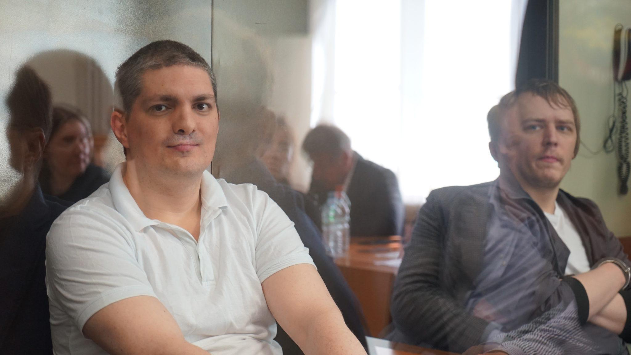 Петр Карамзин в зале Люблинского суда. Фото Н. Деминой