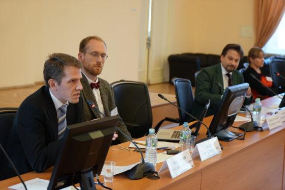 На конференции в РГГУ, 26 сентября 2018
