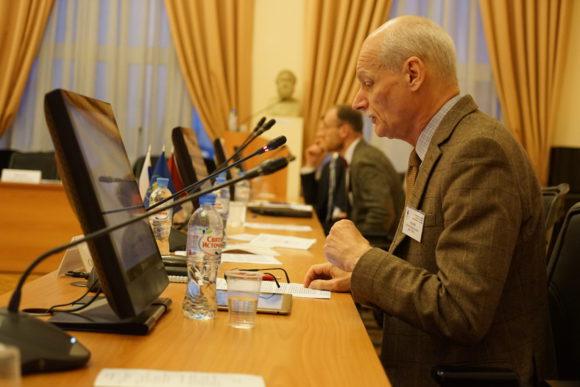 Сергей Зенкин на конференции в РГГУ 26 сентября 2018 года