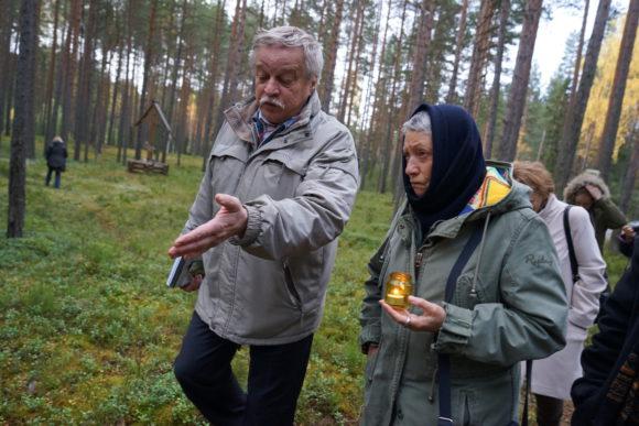 Анатолий Разумов и Людмила Улицкая в Красном Бору