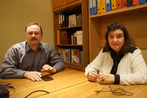 А. Шмаина-Великанова и М. Борисов. Фото Н. Деминой