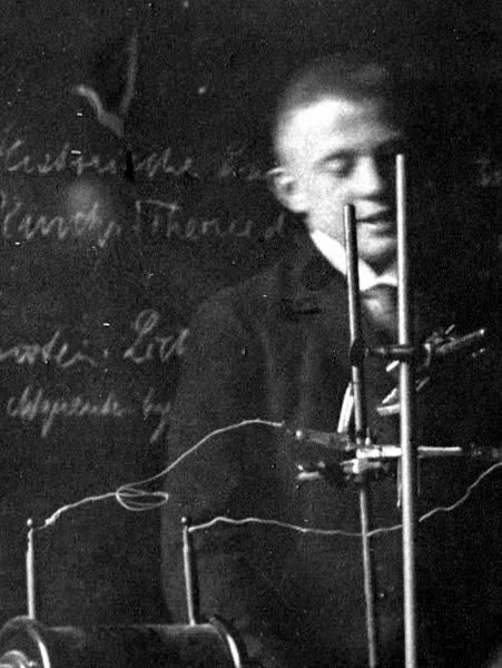 В. Гейзенберг в 1920-е годы («Википедия»)