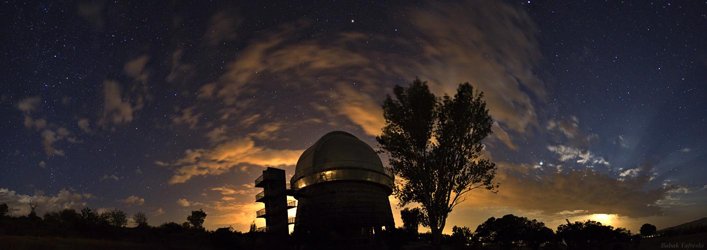 Бюраканская обсерватория в Армении