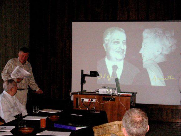На семинаре в МГУ в честь столетия рождения Ильи Пригожина в январе 2017 года