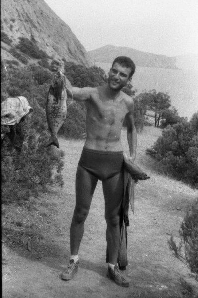 Рыбалка - страстное увлечение Роберта Суриса с молодости