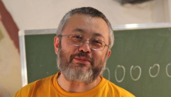Поздравляем математика Александра Шеня с 60-летием!