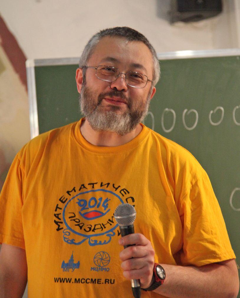 Александр Шень. Фото Н. Четвериковой
