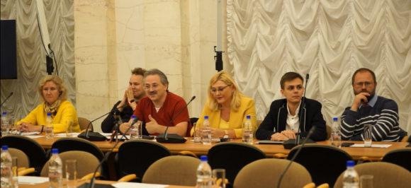 А. Сергеев на встрече с президентом РАН